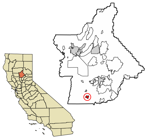 Gridley California Map