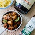 Special Adobo in Carob and Plum Wine Sauce Recipe by Stivi Wonders