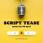 Script Tease, Smells Like Nib Spirit by Stivi Wonders